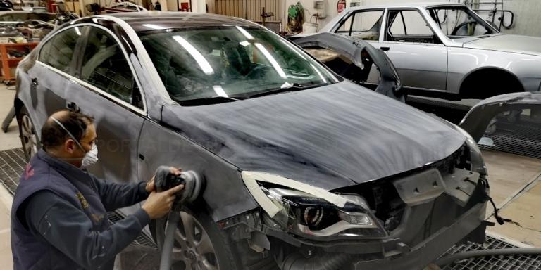 Reparación de chapa de vehículos en Palencia