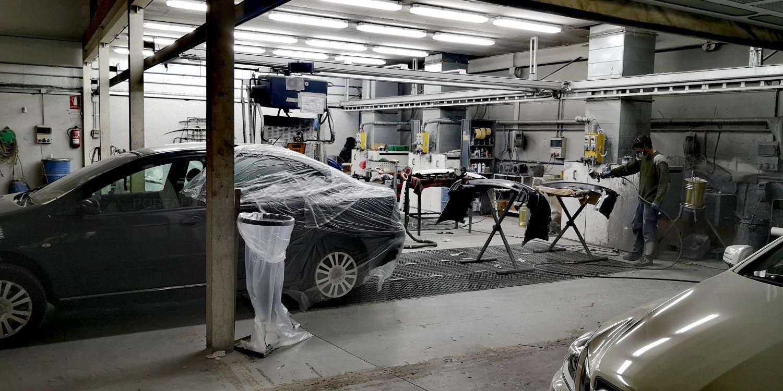Reparación de pintura para vehículos Palencia