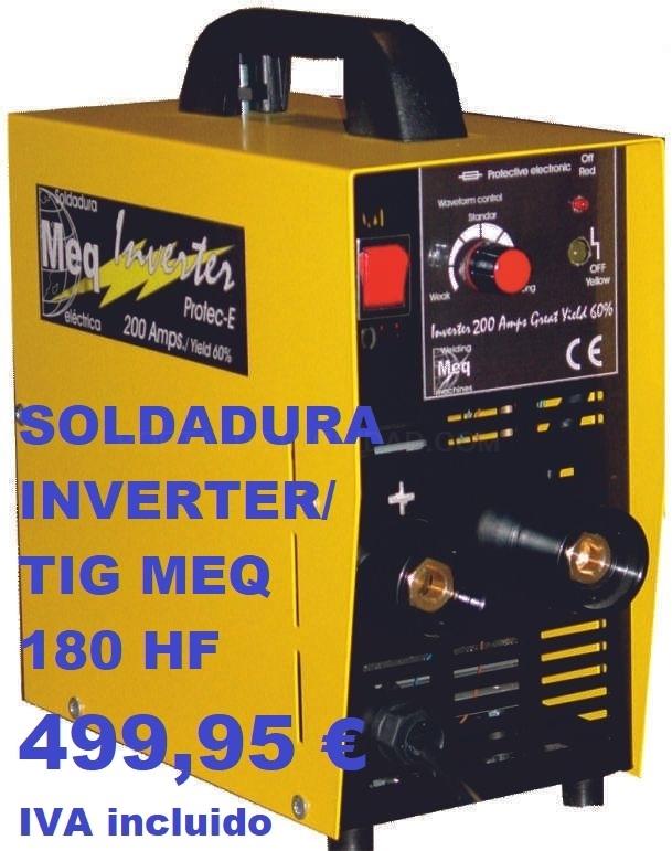 Soldadura INVERTER en Palencia