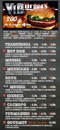 Hamburguesas Caseras en Palencia