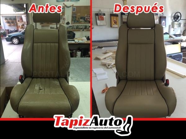 Reparación de asientos de coche Elche Rojales