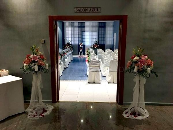 Decoraciones florales de bodas Palencia