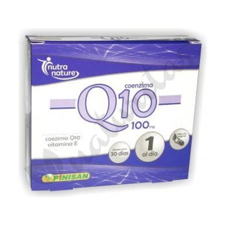 Coenzima Q10 100 mg - Pinisan - 30 cápsulas