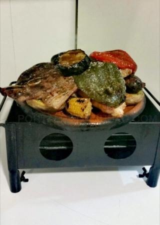 Parrillada de carne en Palencia