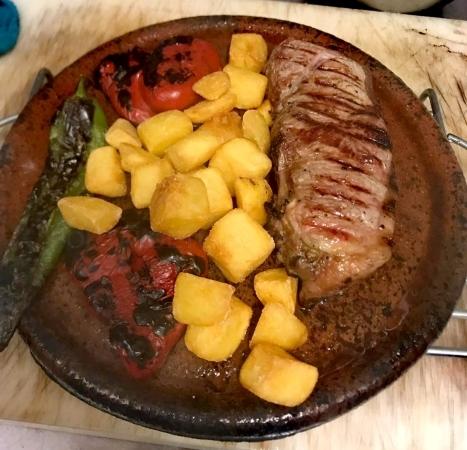 Carnes a la brasa en Palencia