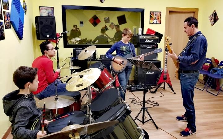 Academia de guitarra en Palencia