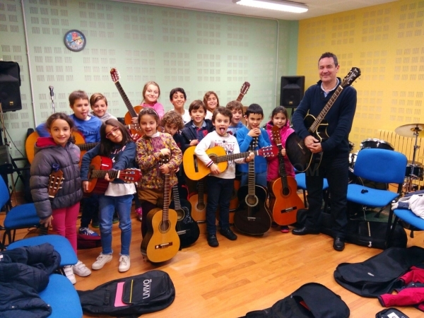 Cursos de guitarra en Palencia