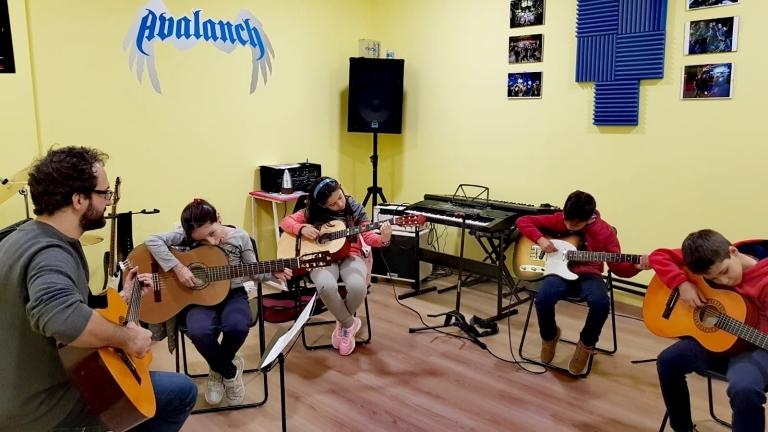 Clases de guitarra en Palencia