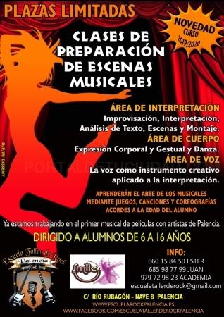 Clases de preparación de escenas musicales