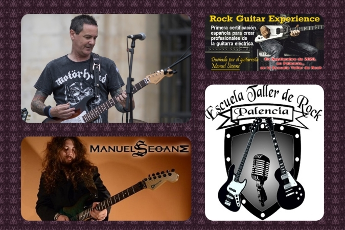 rock guitar experience palencia