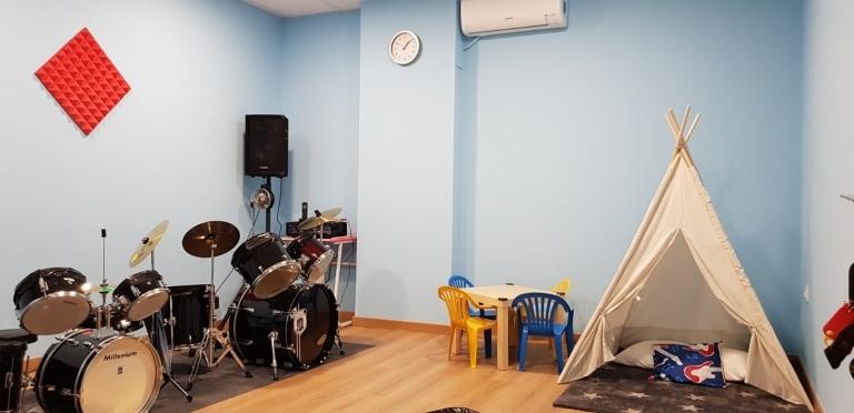 escuela de batería en Palencia