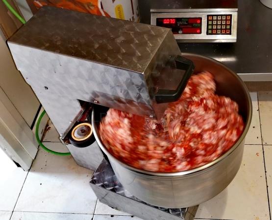Chorizos caseros en Palencia