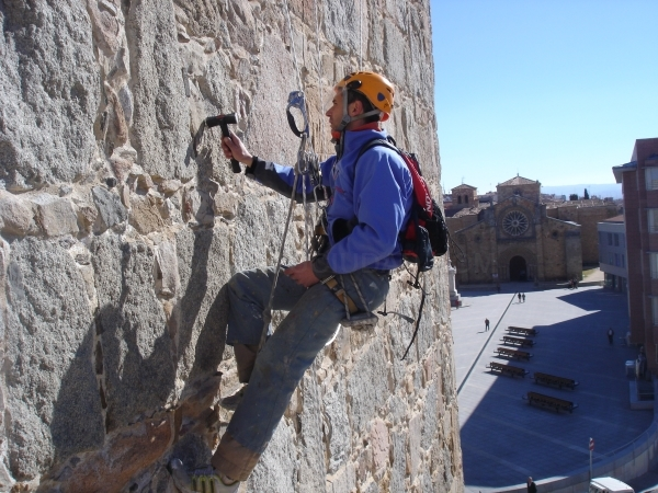 Trabajos en altura en Palencia