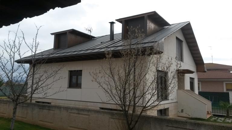 Cubiertas de zinc en Palencia