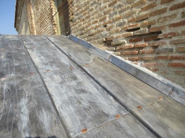 Cubiertas de plomo en Palencia