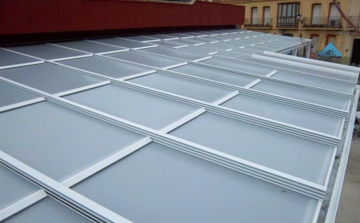 Techos móviles de aluminio Palencia