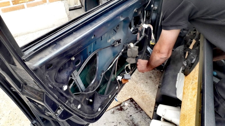 elevalunas reparación en Palencia
