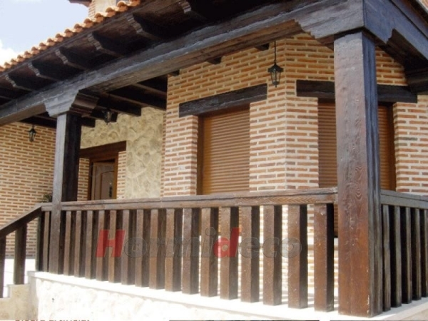 Prefabricados imitación madera Palencia