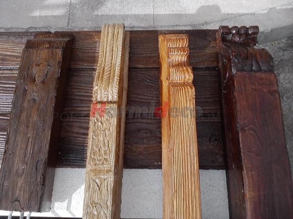 Canes imitación madera en Palencia