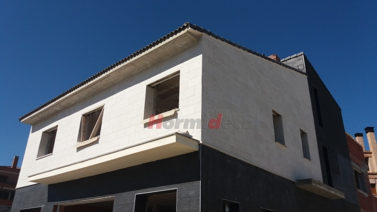 Prefabricados imitación piedra en Palencia