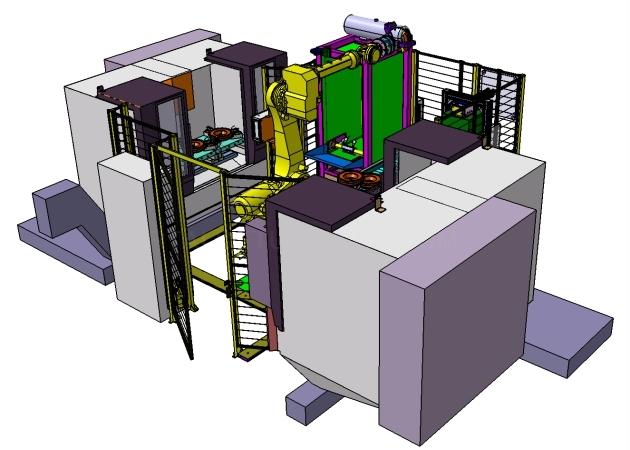 Automatización máquinas mecanizado