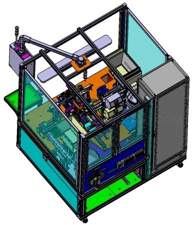 Máquinas para el montaje de piezas completas ingemov
