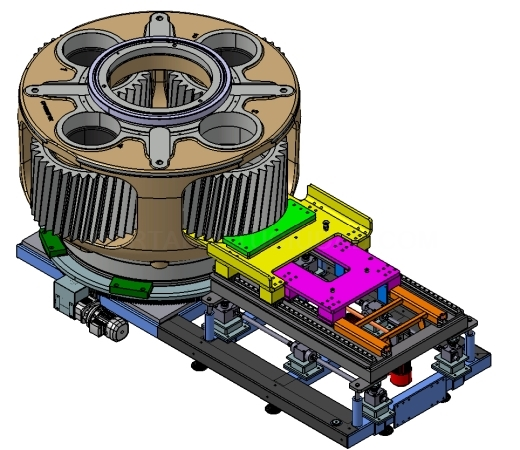 Sistemas de montaje de altas cargas.