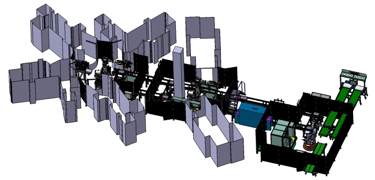 Líneas completas de mecanizado.