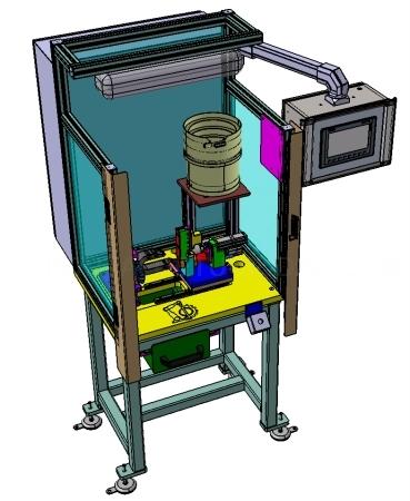 Máquinas para el montaje de componentes.