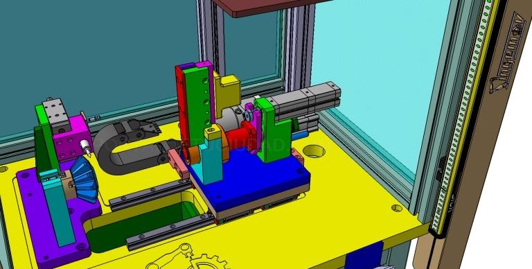Máquinas para el montaje de componentes. ingemov
