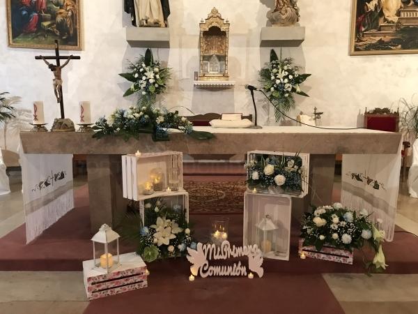 Flores para comuniones en Palencia