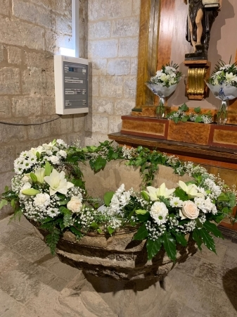 Decoración de flores Palencia