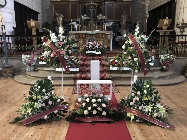 Decoraciones funerarias en Palencia