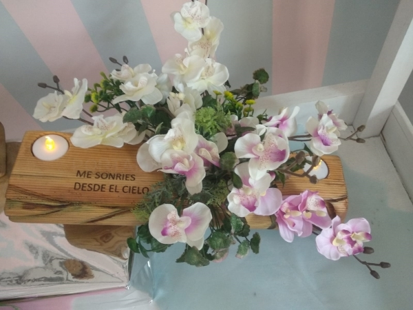 Flores funerarias en Palencia
