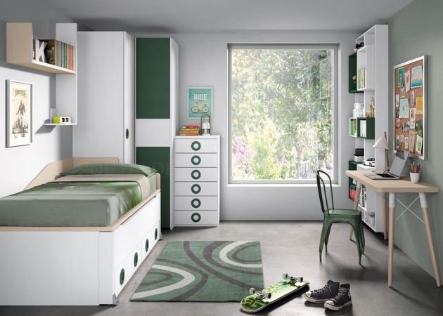 Dormitorios juveniles en Palencia