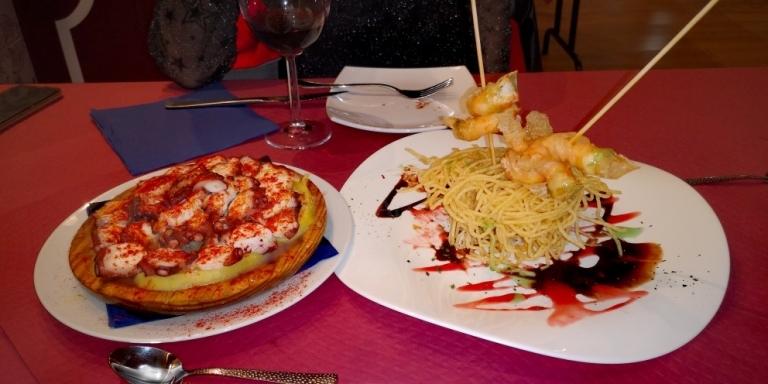Comer pulpo en Palencia