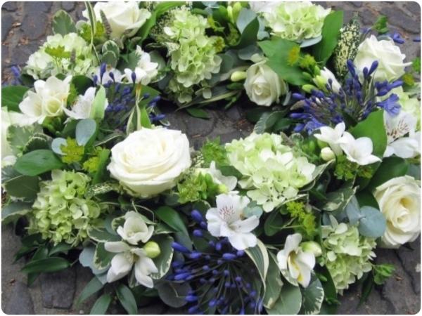 Coronas para funerales en Almuñécar
