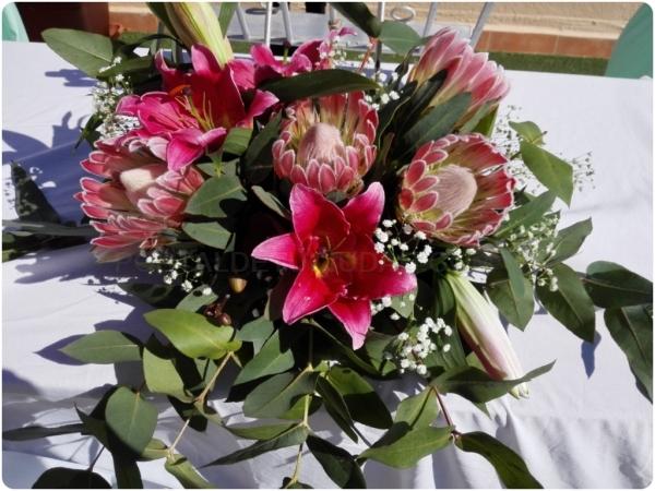 Decoraciones con flores en Almuñécar