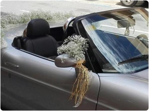 Arreglos de coches con flores en Almuñécar