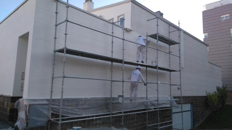 Revestimientos de fachadas en Palencia