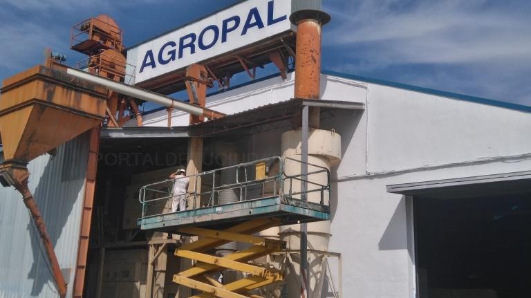 Pintura industrial en Palencia.