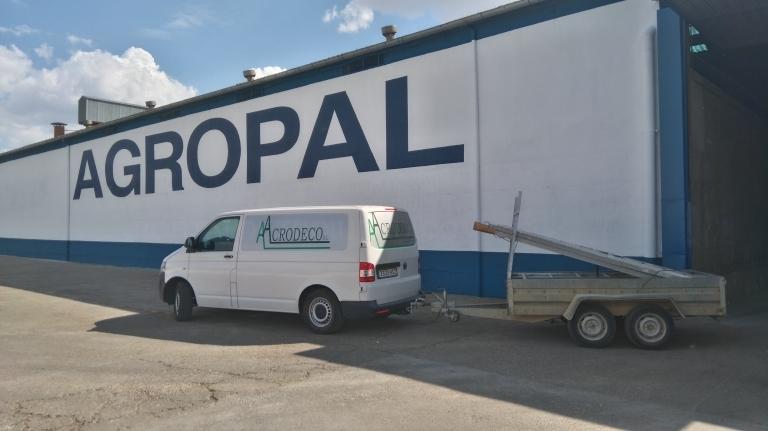 Pintura para la industria en Palencia