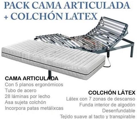 oferta cama articulada palencia