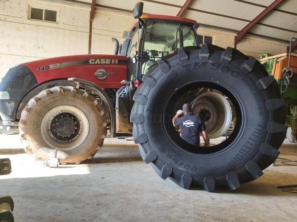 Ruedas para agricultura en Palencia