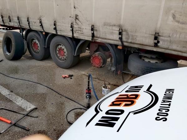 Neumáticos para Camiones  Palencia