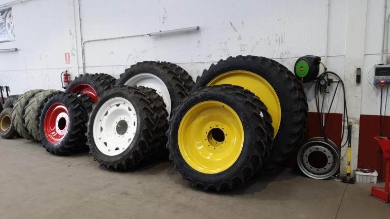 Conversión de ruedas estrechas agricultura