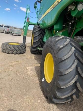 Conversión de ruedas estrechas para agricultura en Palencia