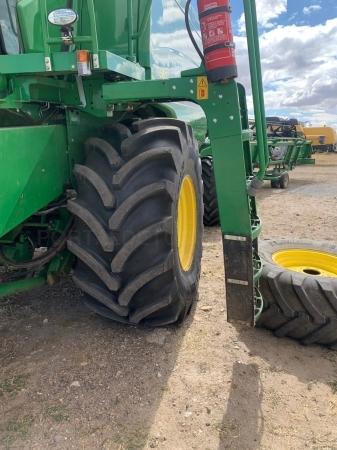 Conversión de ruedas estrechas para agricultura