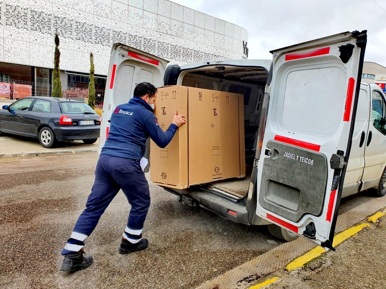 Transporte de maquinaria deportiva en Palencia
