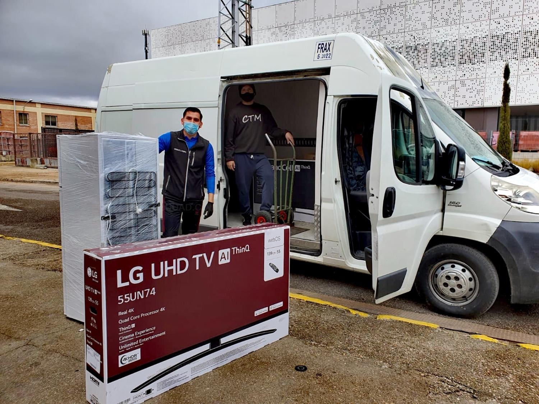 Transporte de electrodomésticos en Palencia